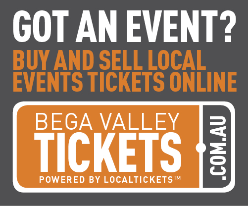 Bega Valley Tickets - Med Rec